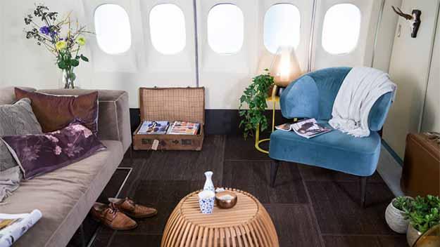 Noort In Een KLM Vliegtuig