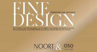 Uitnodiging Fine Design Event NOORT Interieur